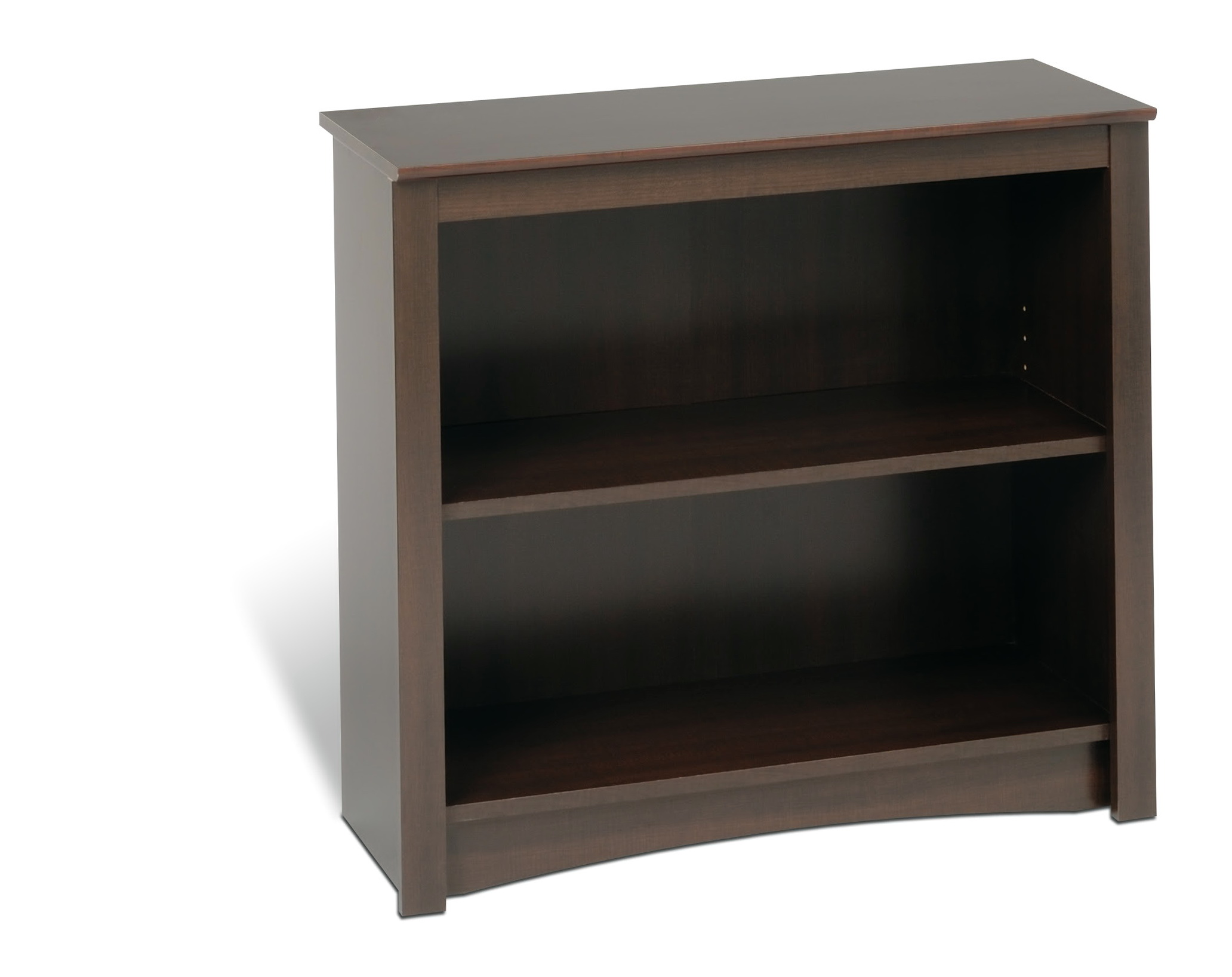 2 Shelf Bookcase Espresso