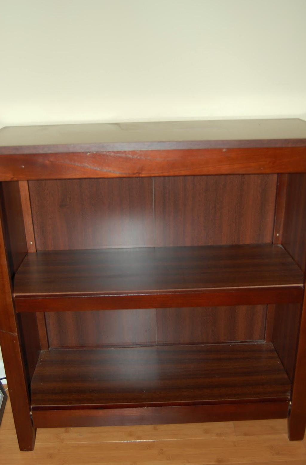 2 Shelf Bookcase Target