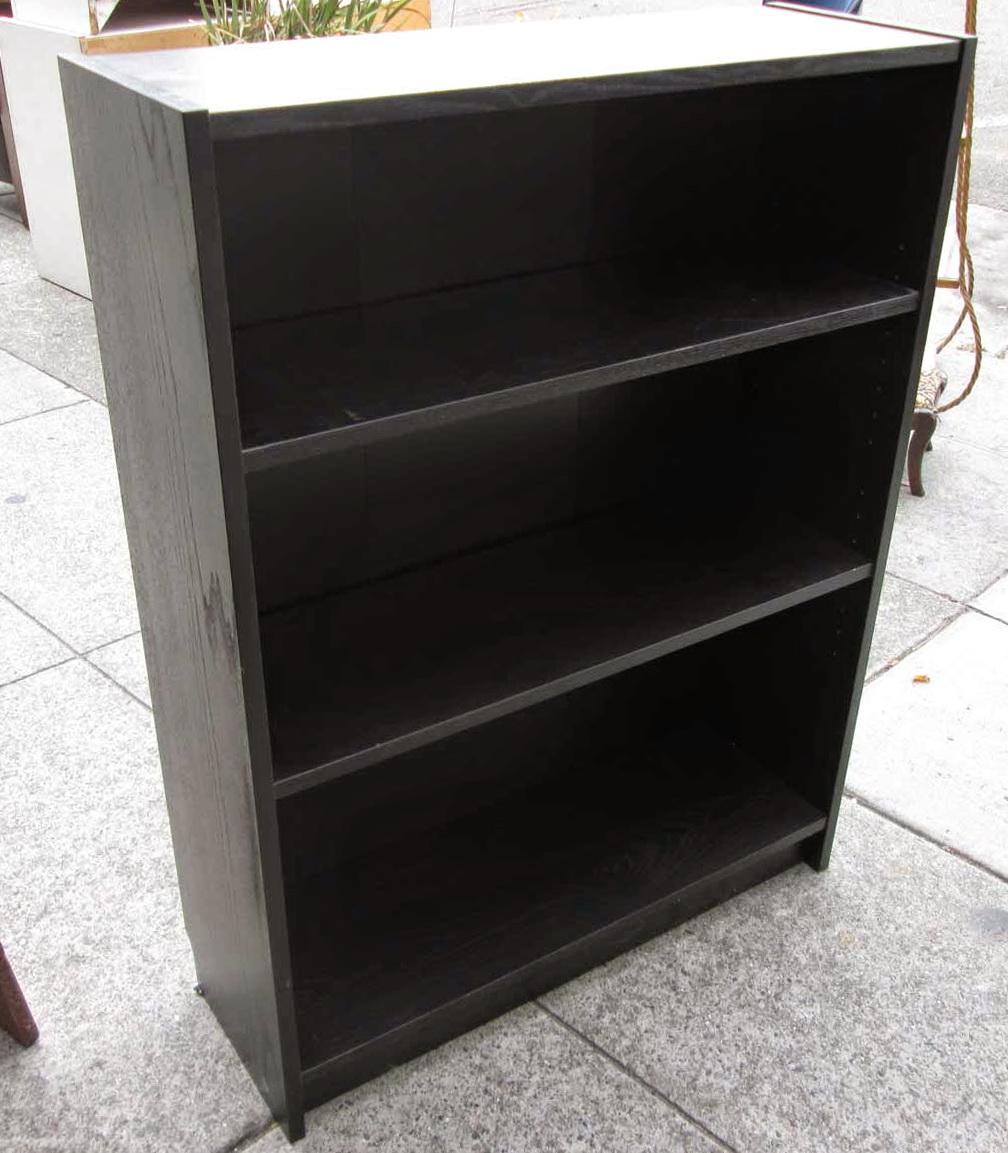 3 Shelf Bookcase Black