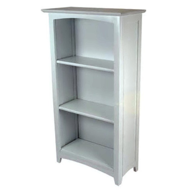 3 Shelf Bookcase White