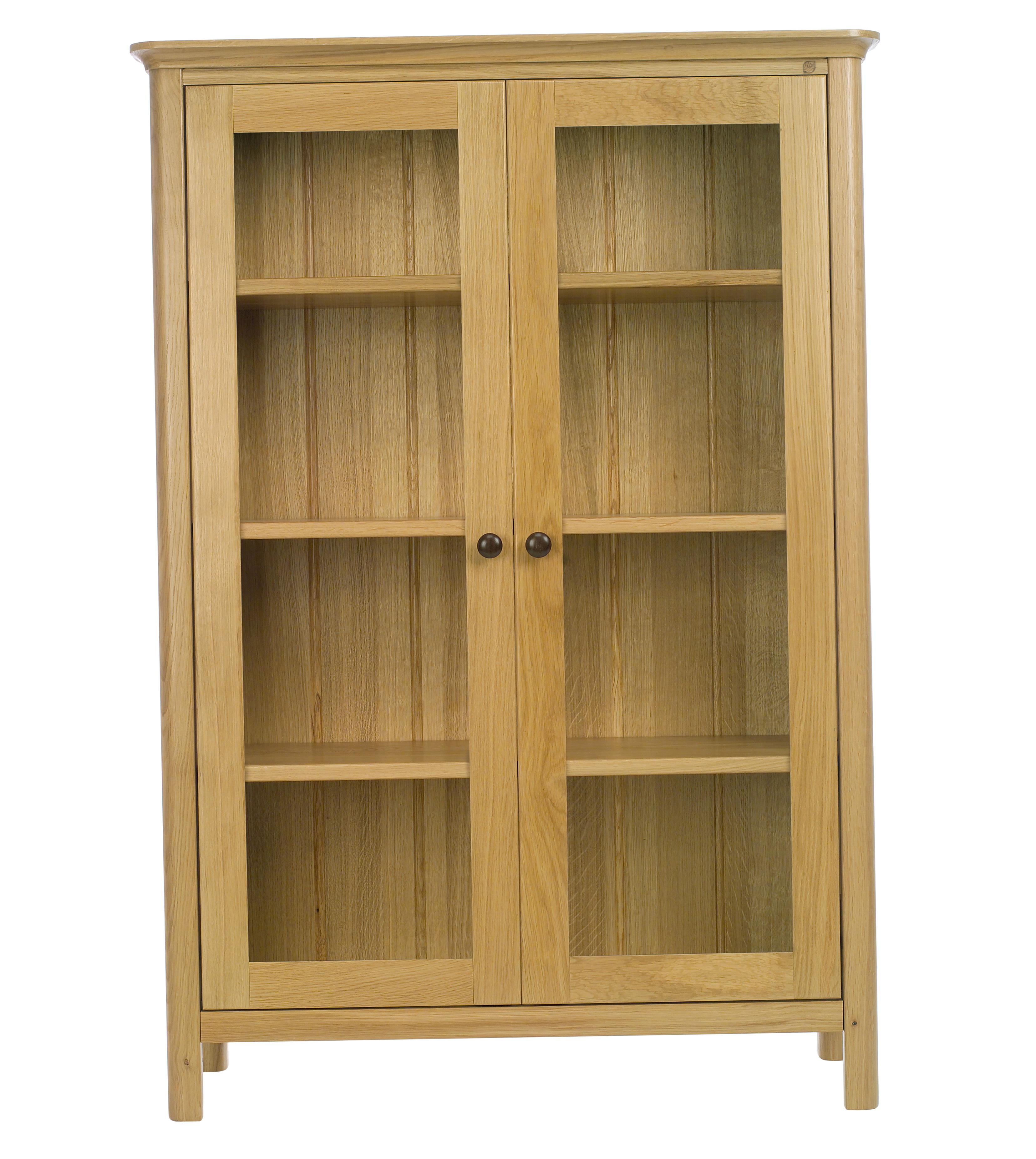 4 Shelf Bookcase With Doors