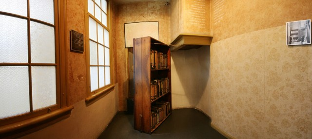 Anne Frank Secret Bookcase Door