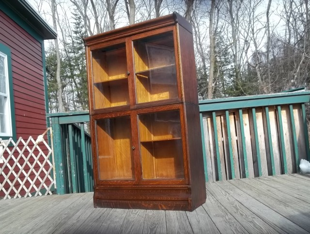 Antique Bookcases With Glass Doors