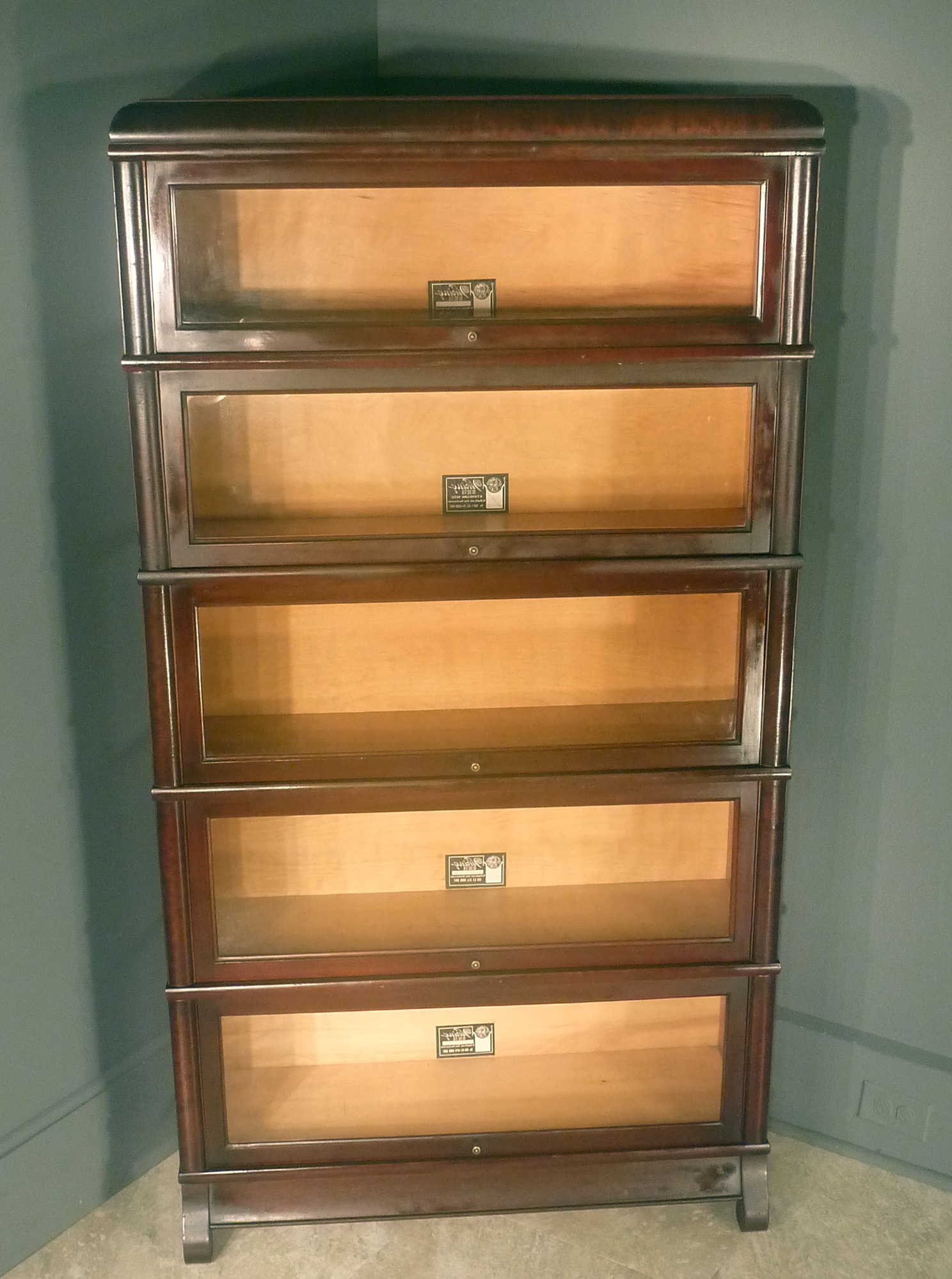 Barrister Bookcases With Glass Doors
