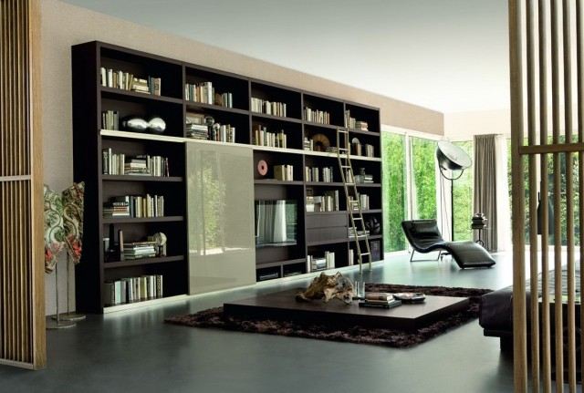 Black Bookshelf Ideas