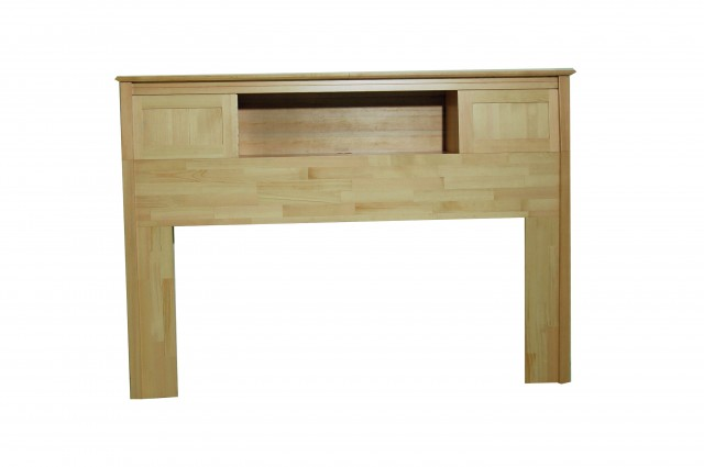 Bookcase Headboard King Solid Wood