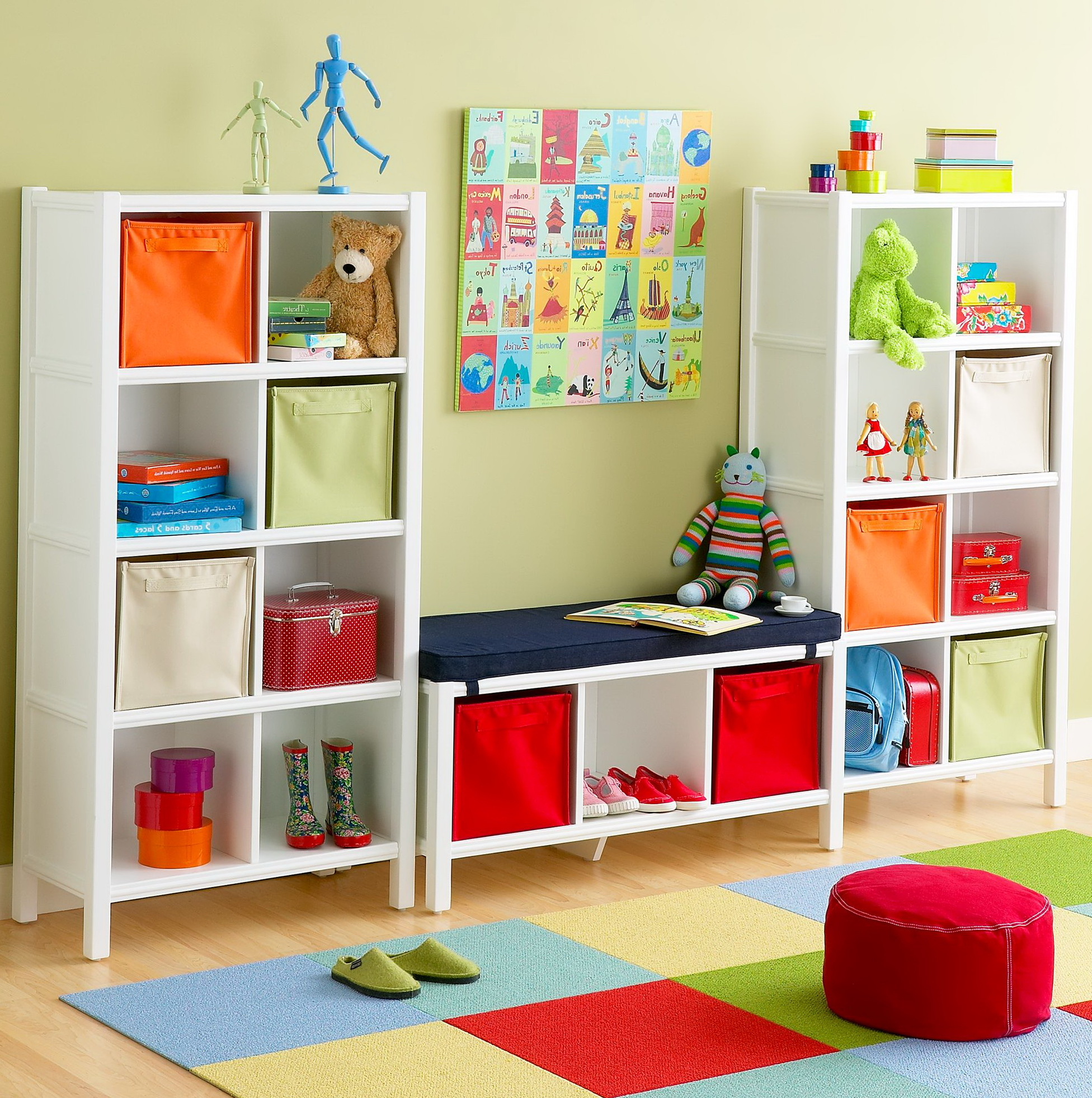 Permalink to Bookshelf For Kids Room