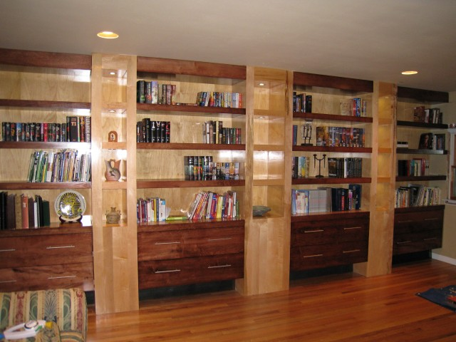 Built In Bookshelves Ideas