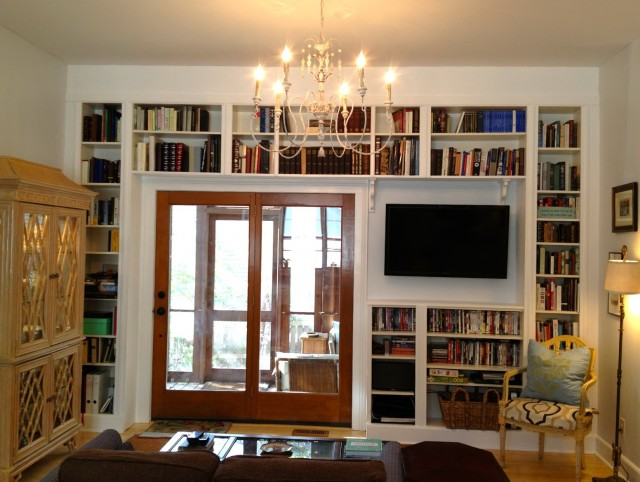 Built In Bookshelves Plans