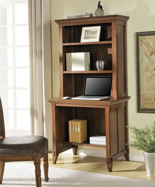 Computer Desk With Bookcase