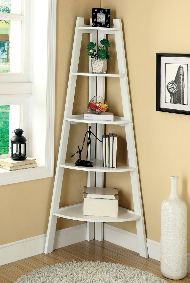 Corner Bookshelf For Kids