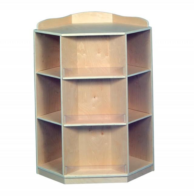 Corner Bookshelves For Kids
