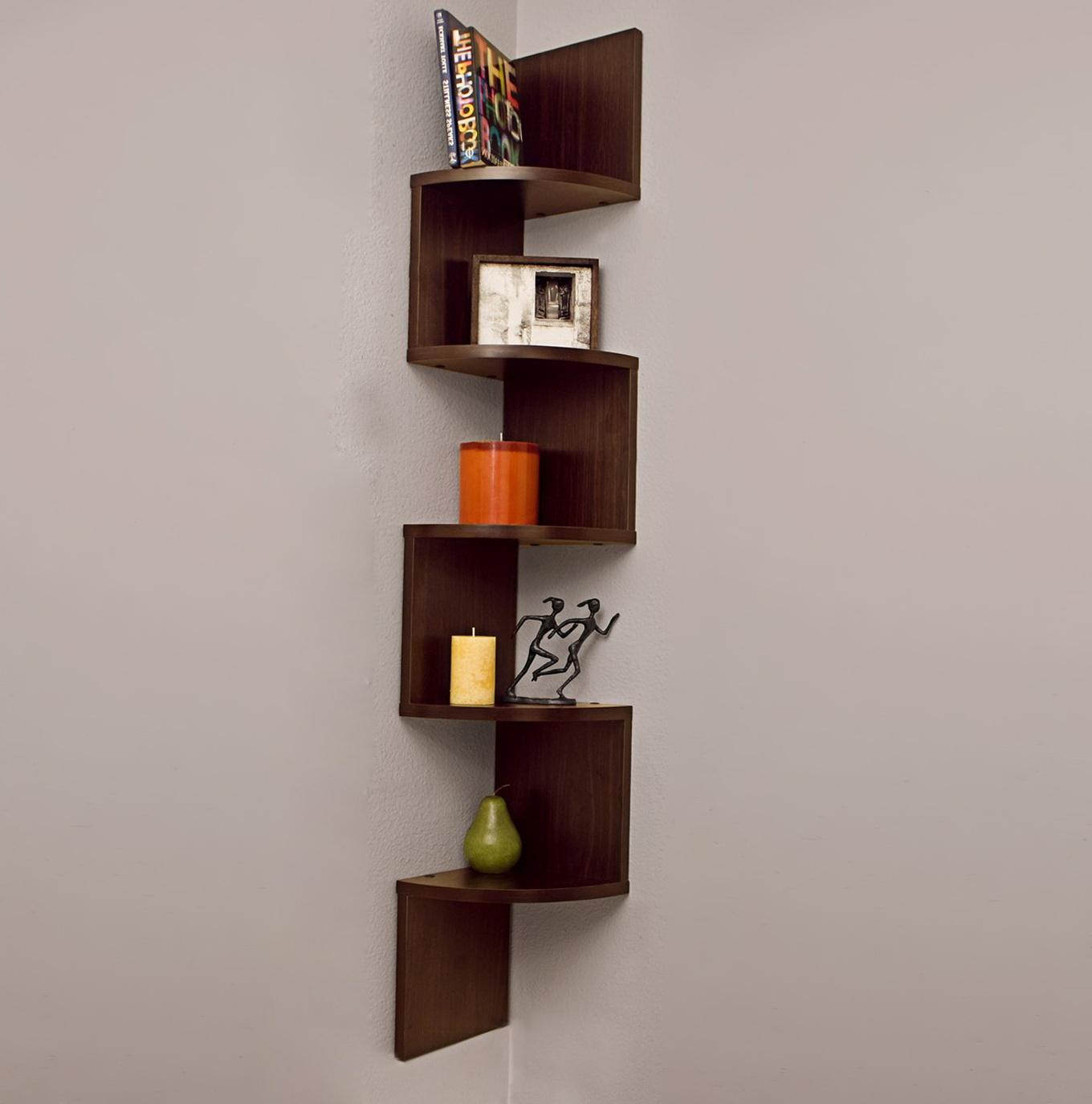 Permalink to Corner Wall Mount Bookshelf