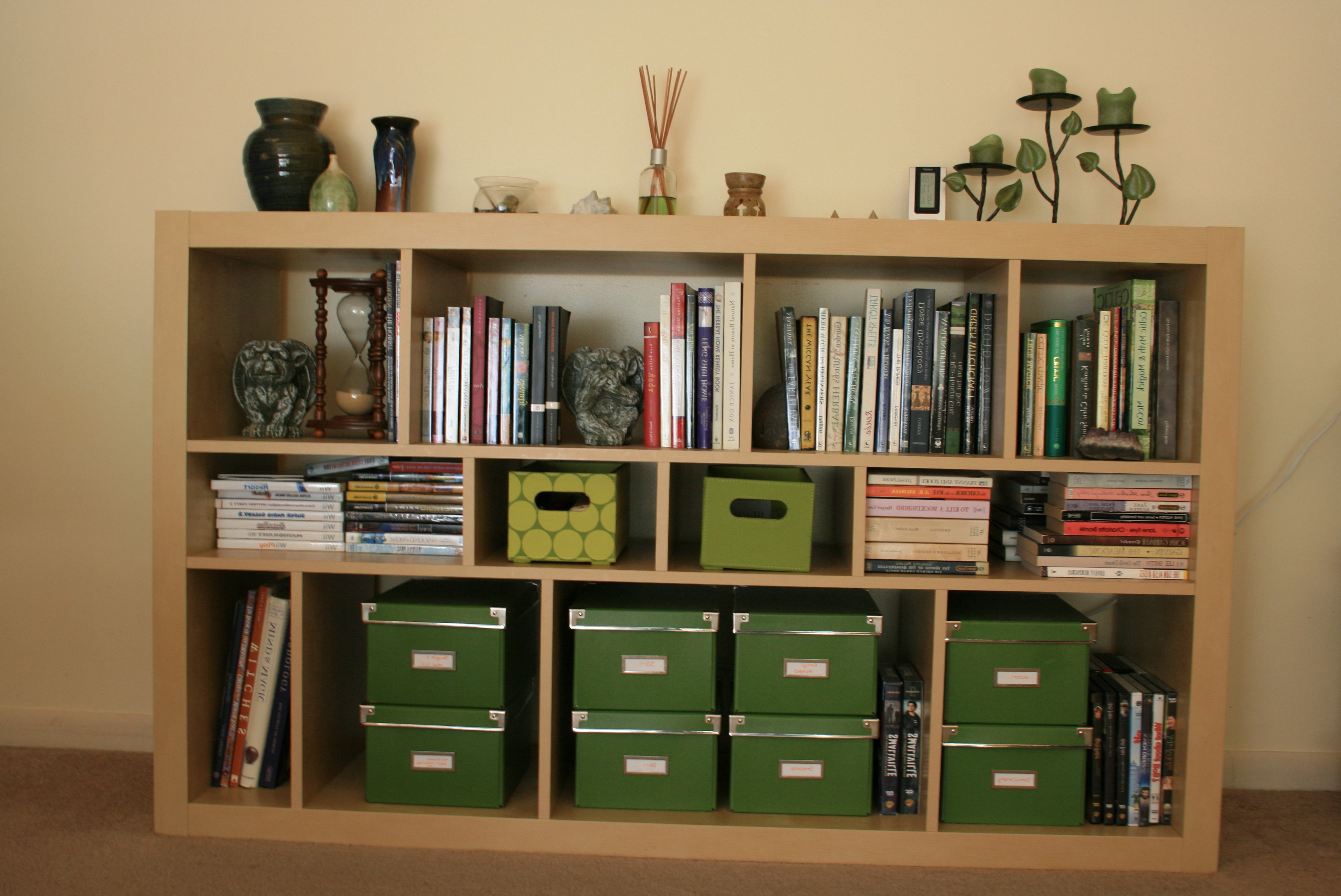 Permalink to Diy Bookshelf Decorating Ideas