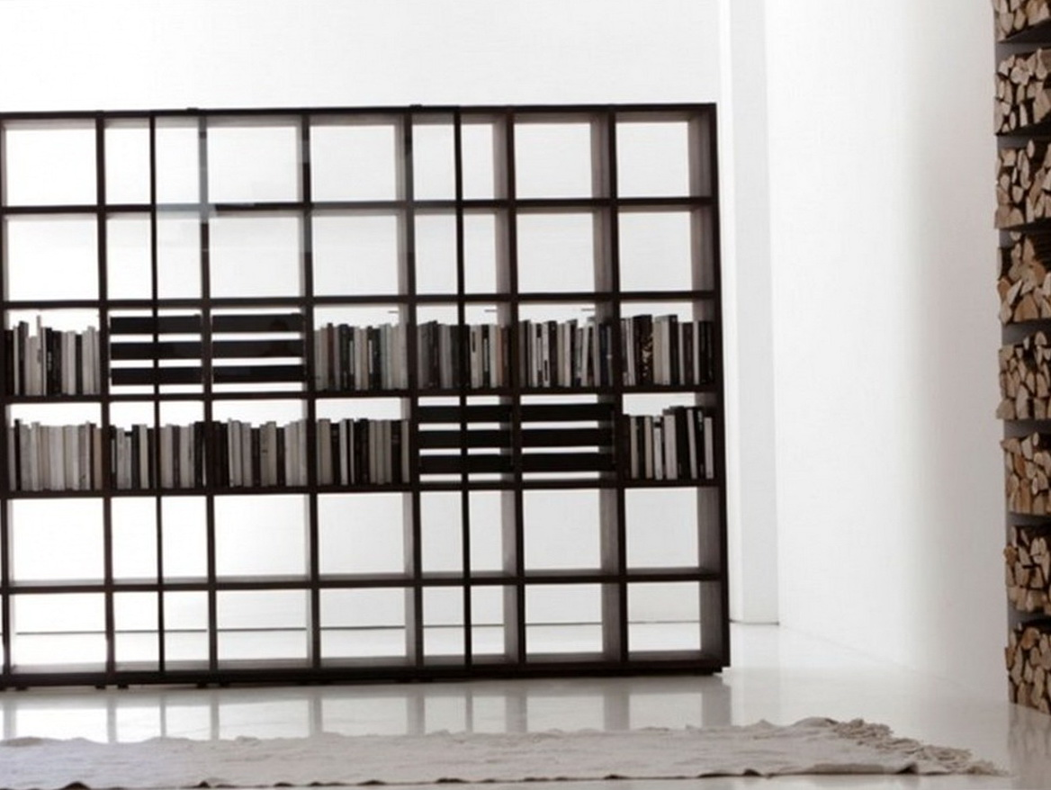 Floor To Ceiling Bookcase Room Divider