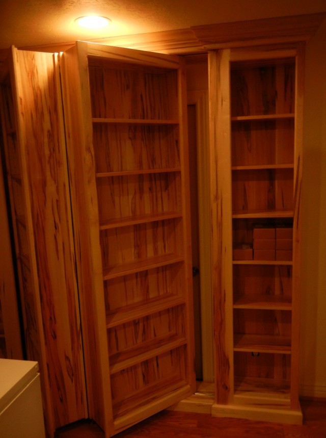 Hidden Door Bookcase Kit