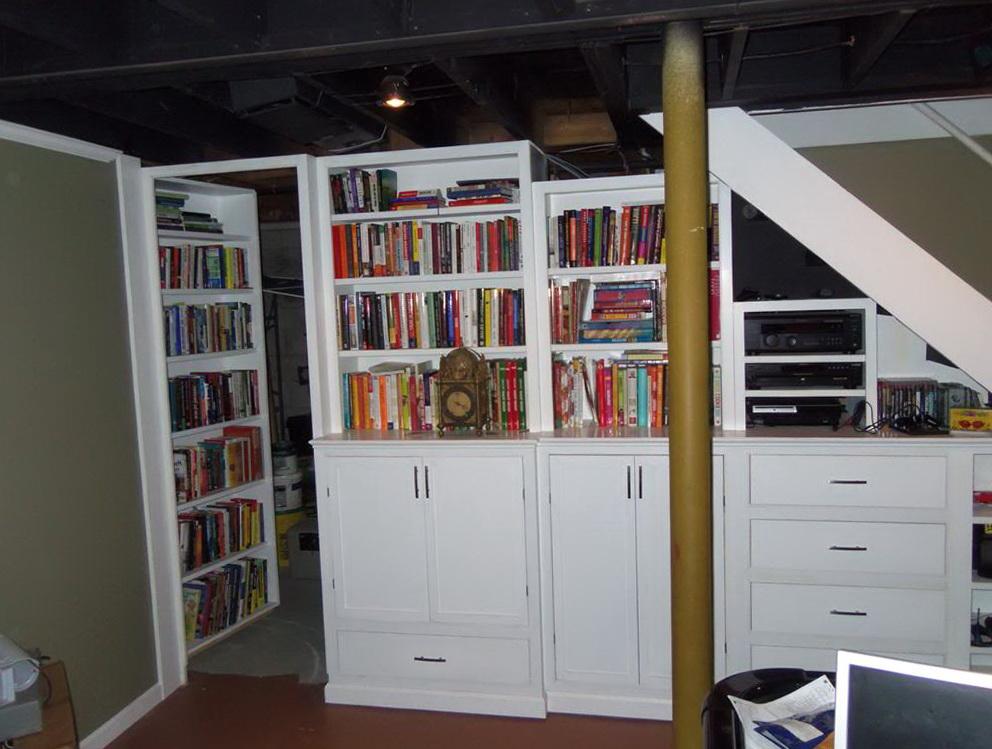 How To Build A Hidden Bookcase Door