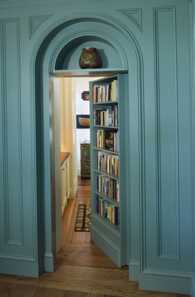 How To Make A Hidden Door Bookcase
