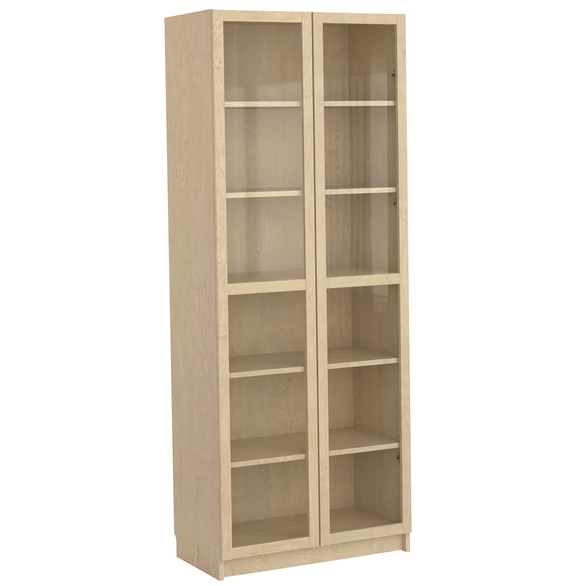 Ikea Bookcase With Glass Doors