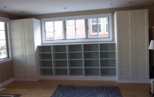 Ikea Bookshelves Built In