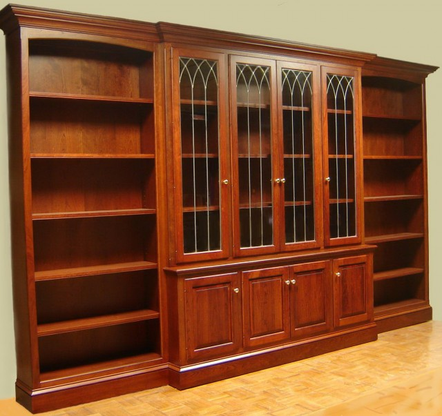 Images Of Bookshelves With Glass Doors