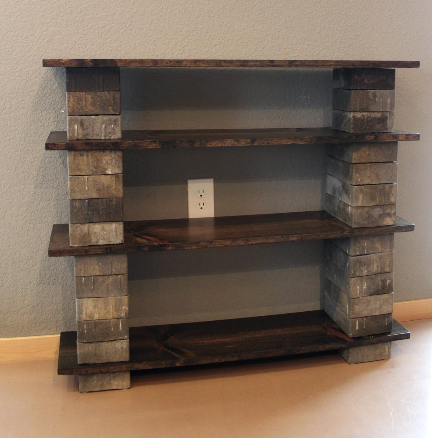 Kids bookshelf diy home design ideas for Diy kids bookshelf ideas