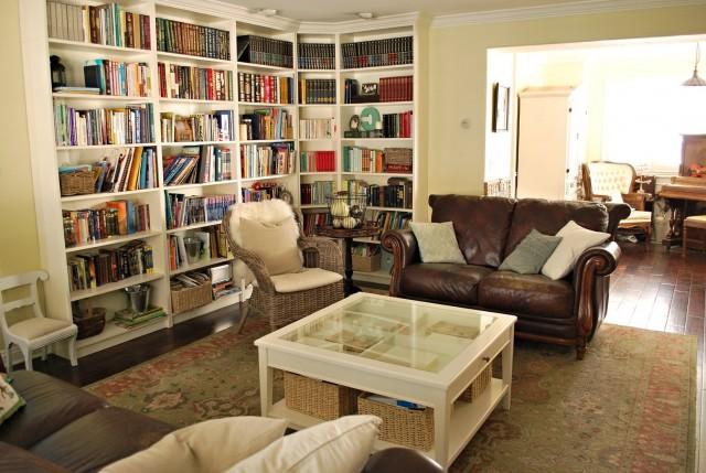 L Shaped Bookcase Room Divider