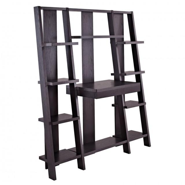 Ladder Bookshelf Desk