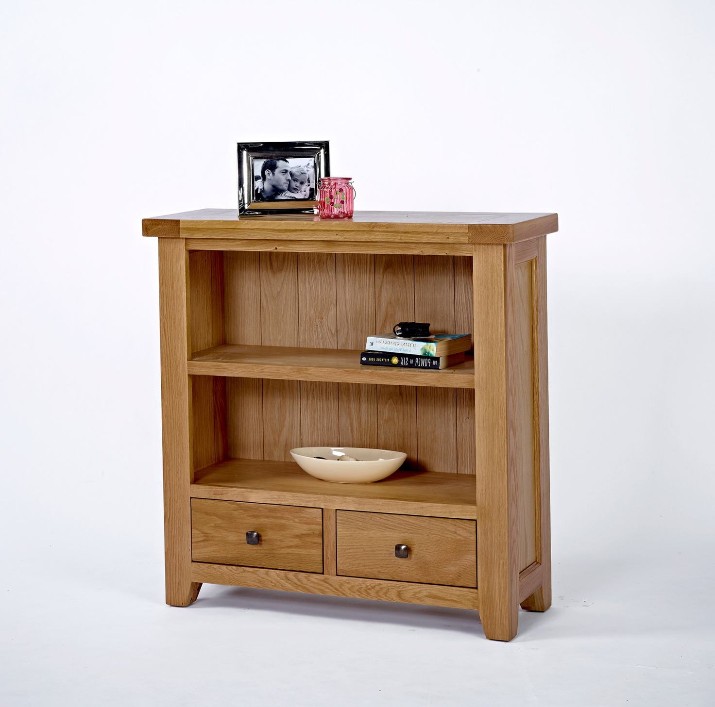 Low Bookcase With Drawers
