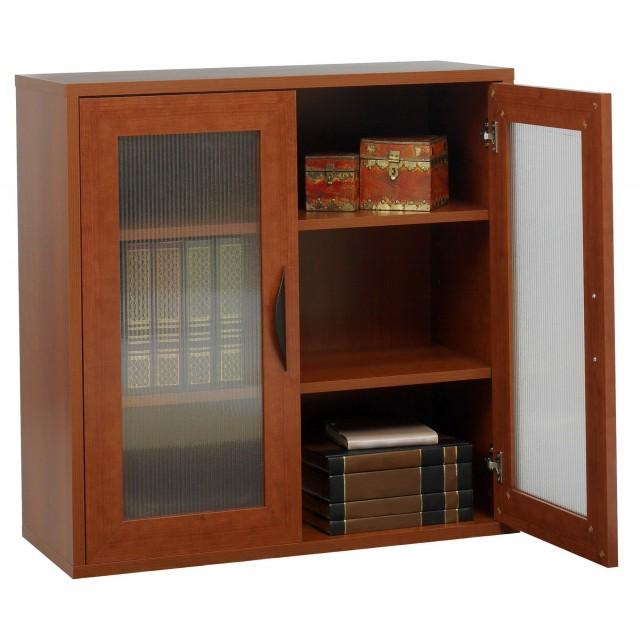 Low Bookshelves With Doors