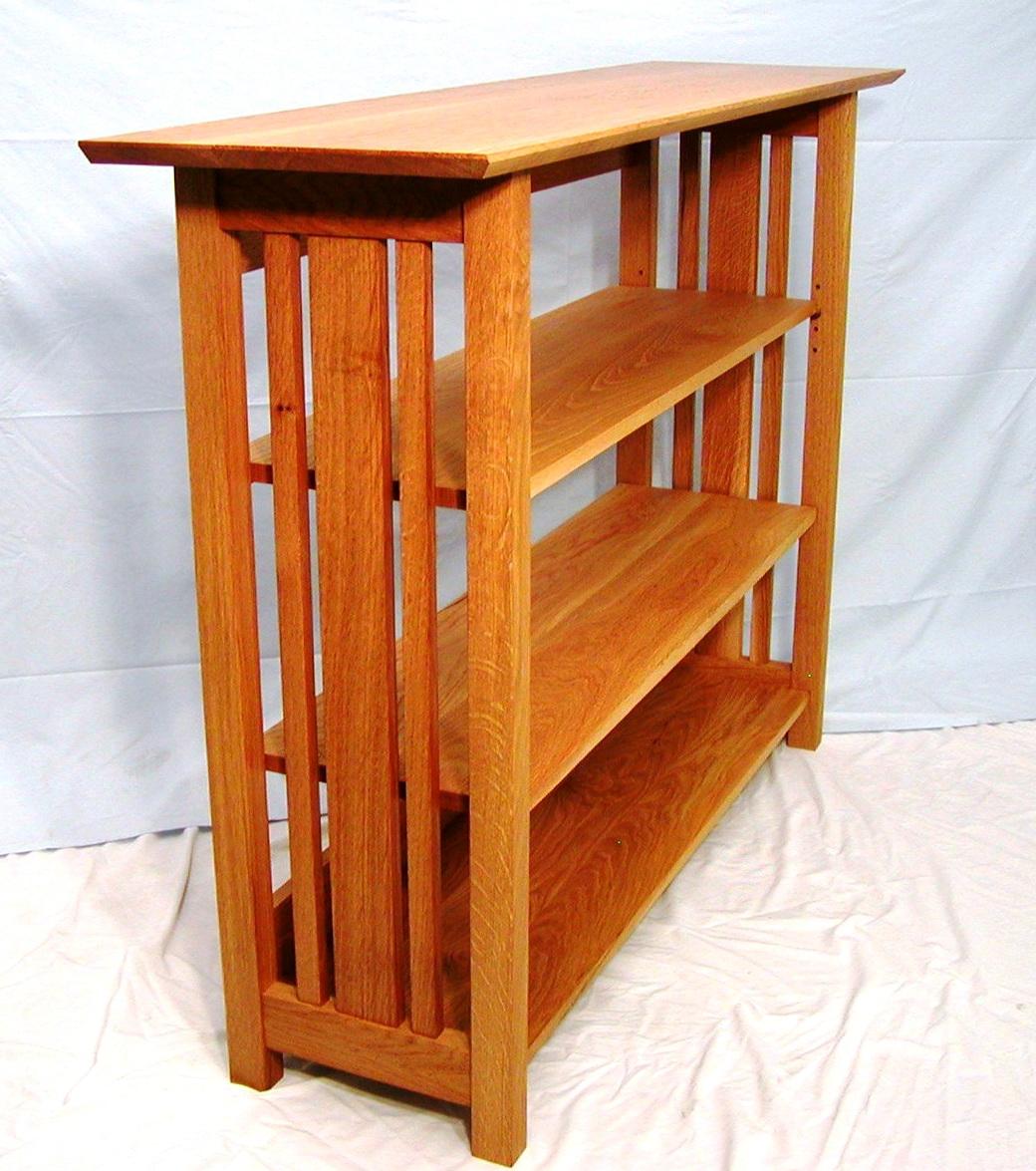Mission Style Bookcase Plans