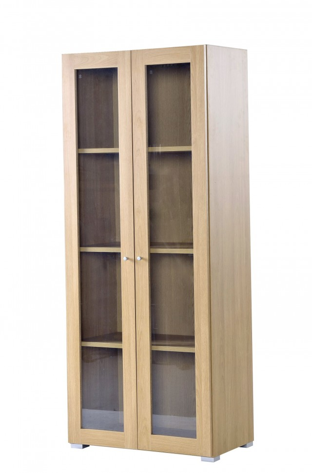 Modern Bookcases With Glass Doors