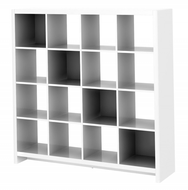 Room Divider Bookcase White