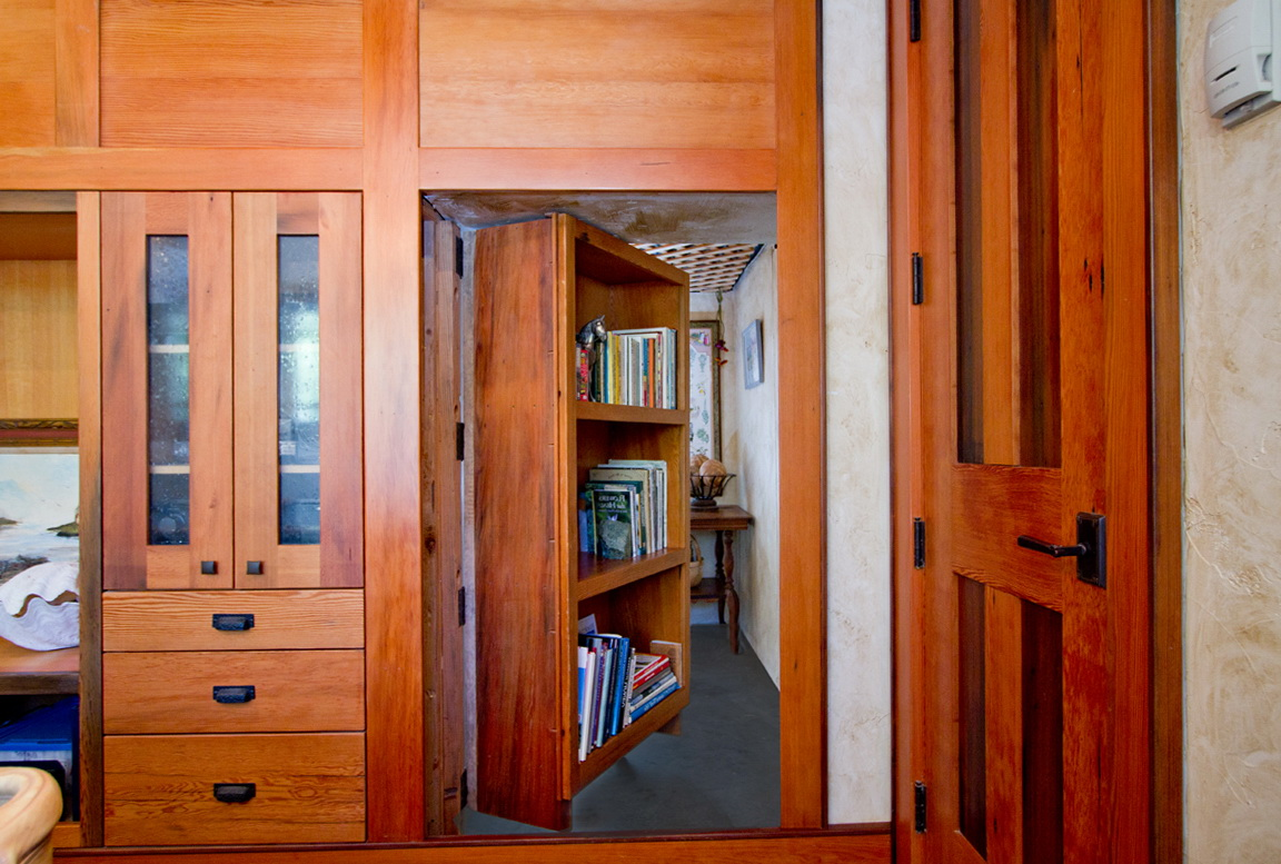 Secret Bookcase Door Kit Home Design Ideas