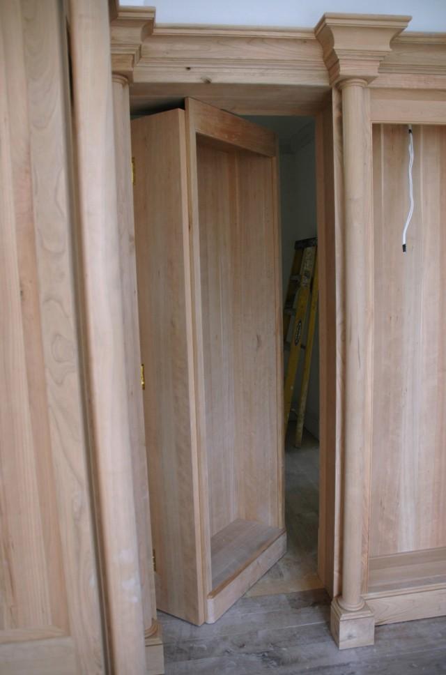 Secret Bookcase Door Plans
