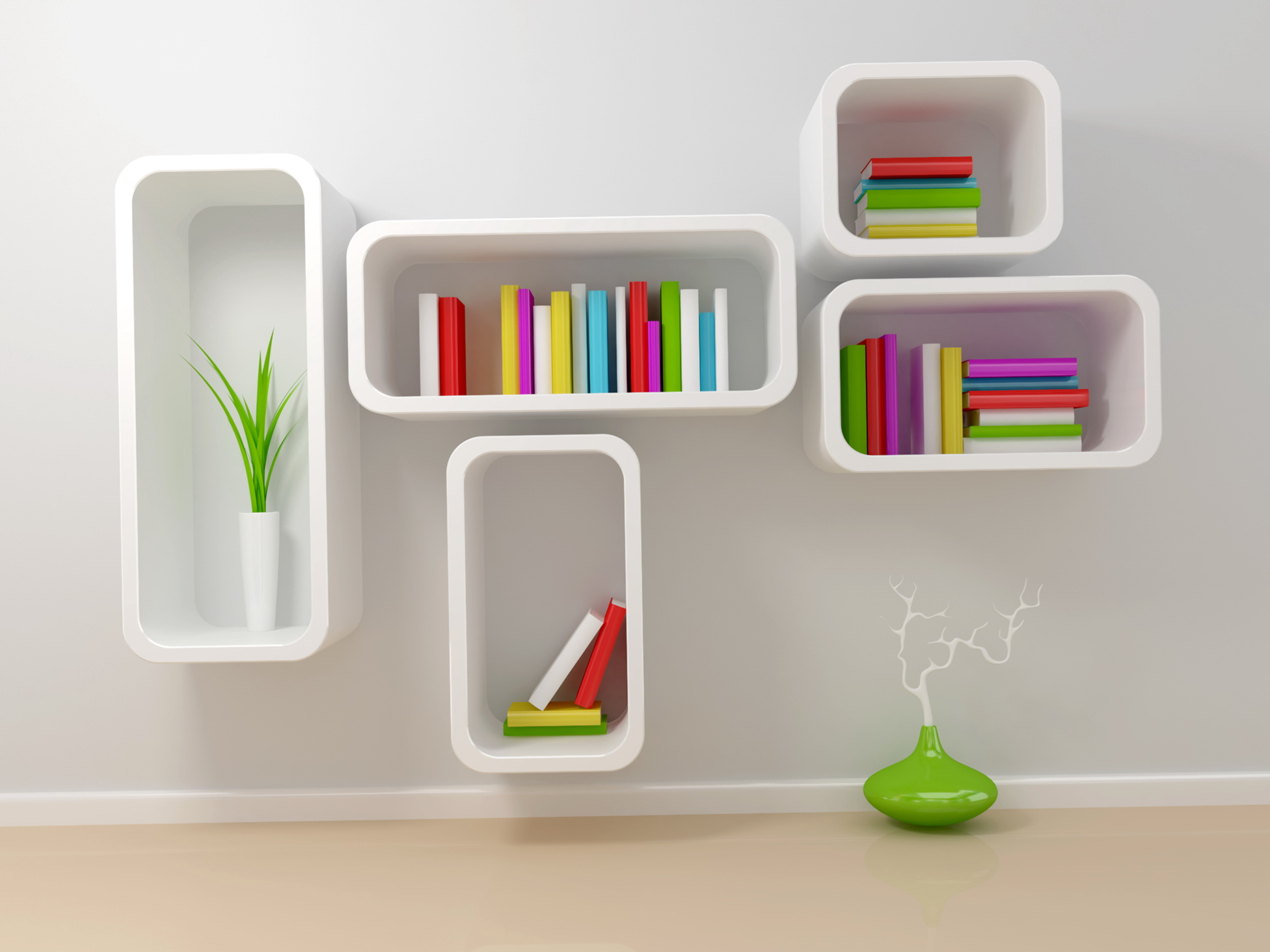 Small bookshelf design home design ideas for Mensole chiuse