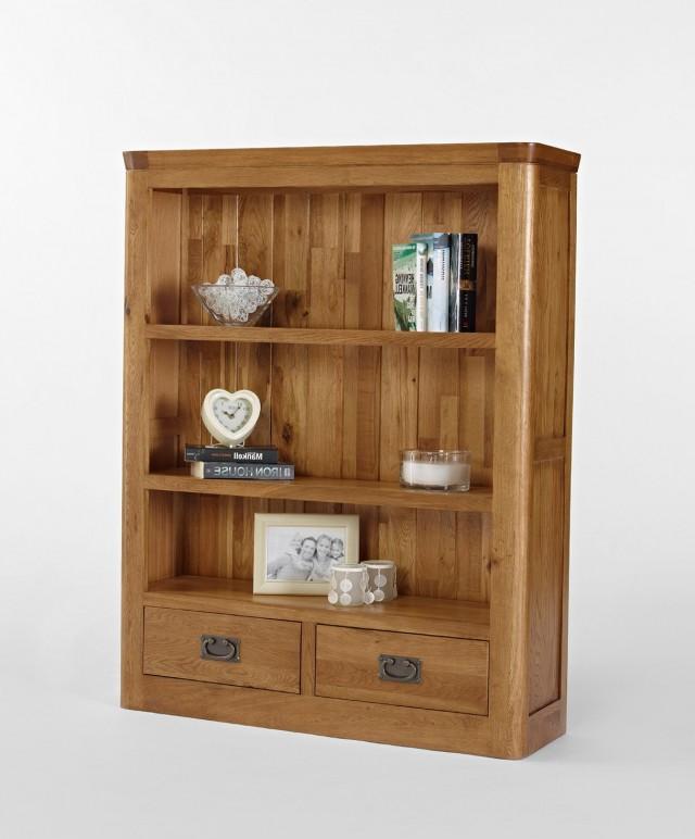 Small Bookshelf With Drawers