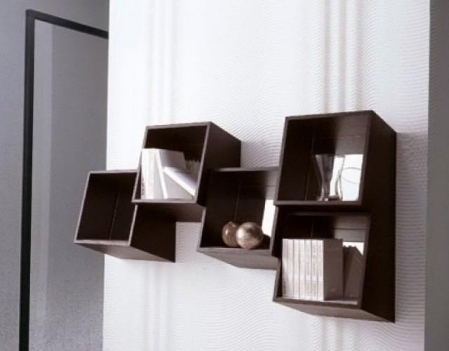 Small Wall Mounted Bookshelf
