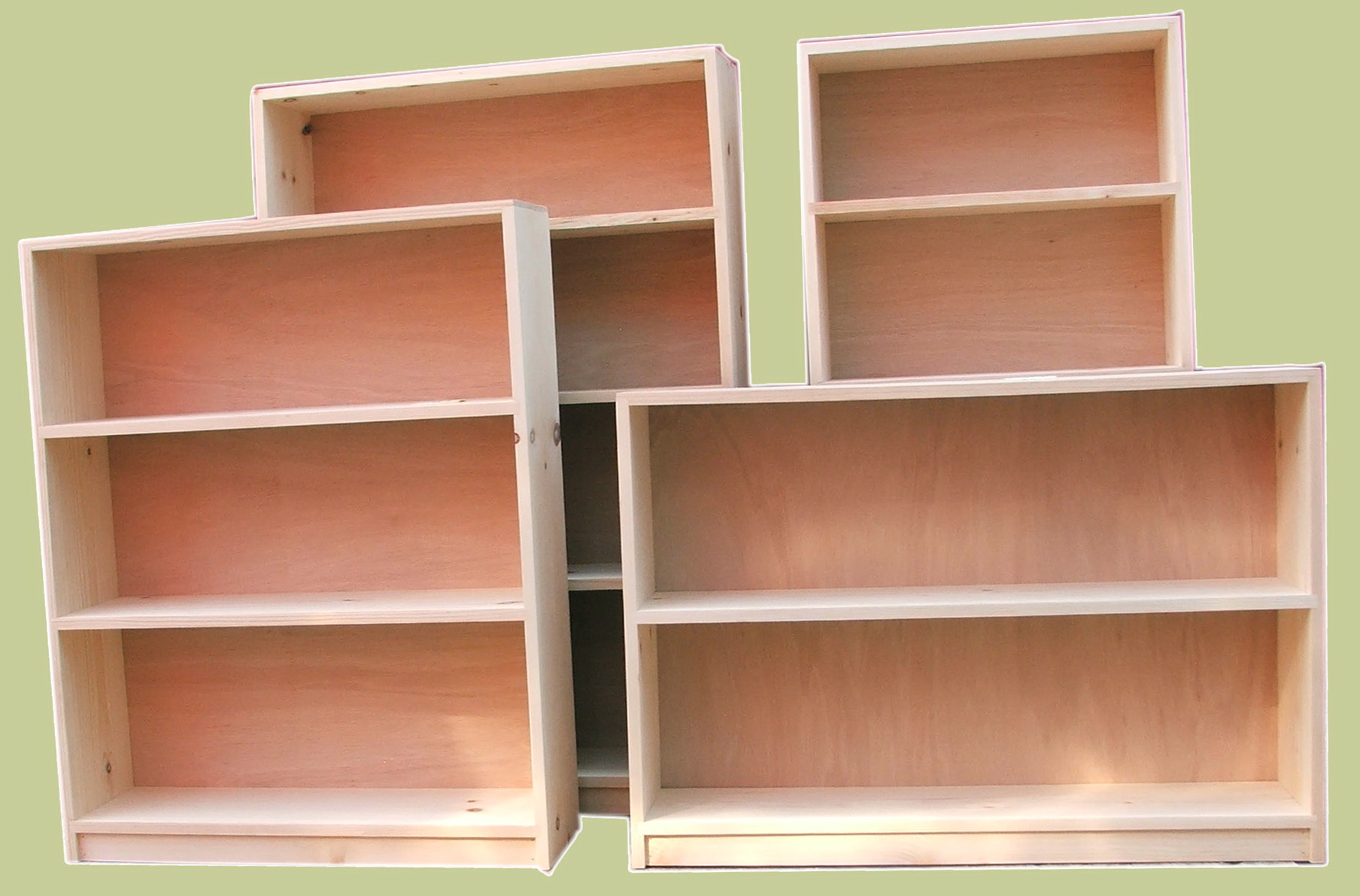 Solid Wood Bookcases Cheap