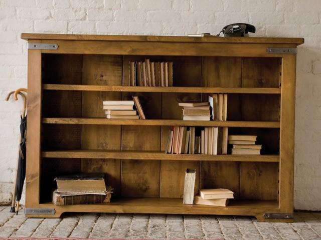 Solid Wood Bookshelf India
