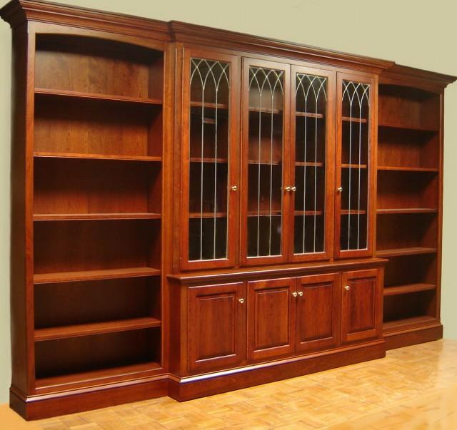 Solid Wood Bookshelf Plans