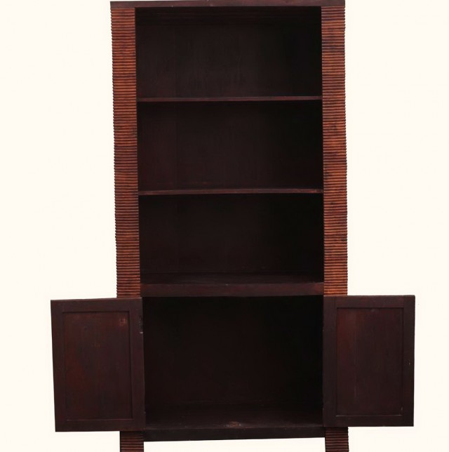 Solid Wood Bookshelves Unfinished