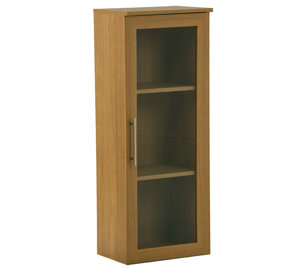 Tall Narrow Bookcase With Glass Doors