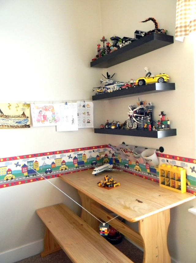 Wall Bookshelves For Kids