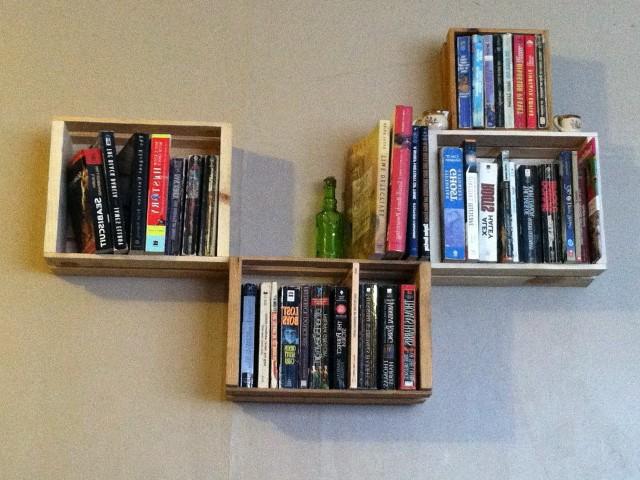 Wall Mounted Bookshelf Diy