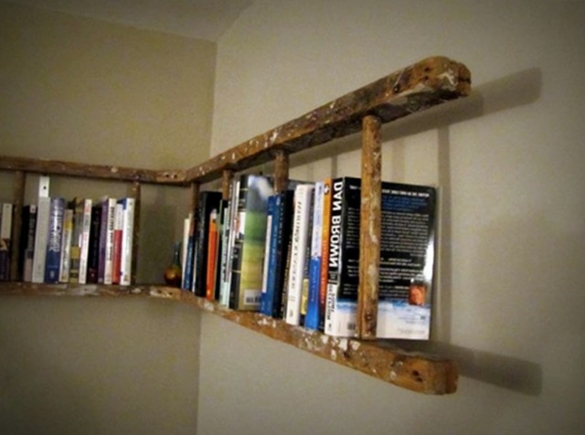 Wall Mounted Bookshelf Ideas