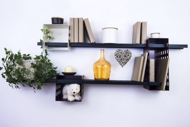 Wall Mounted Bookshelves Canada