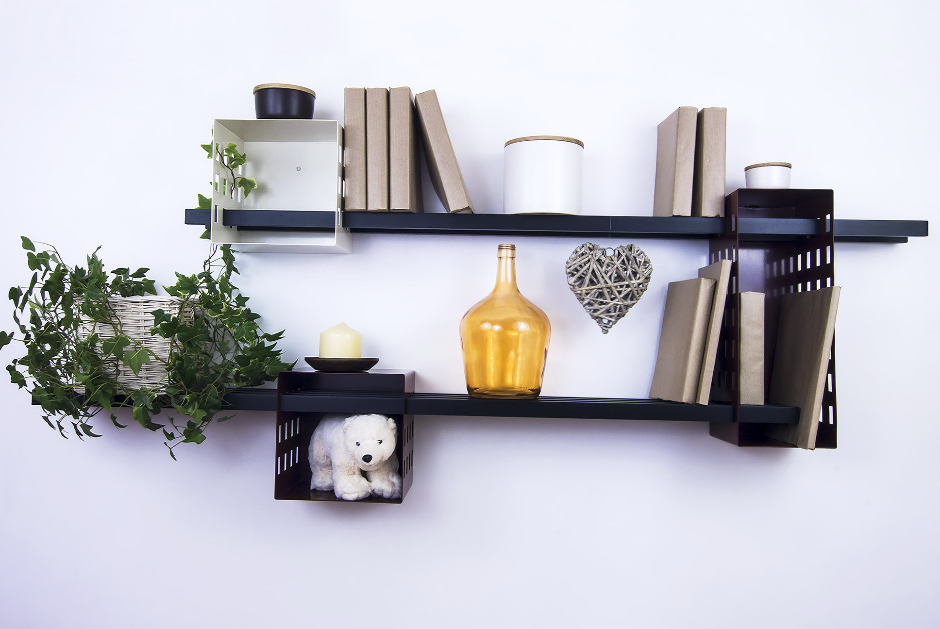 Permalink to Wall Mounted Bookshelves Canada
