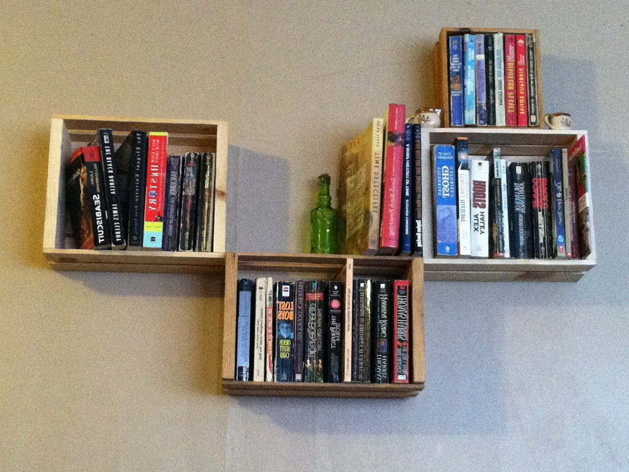 Permalink to Wall Mounted Bookshelves Diy