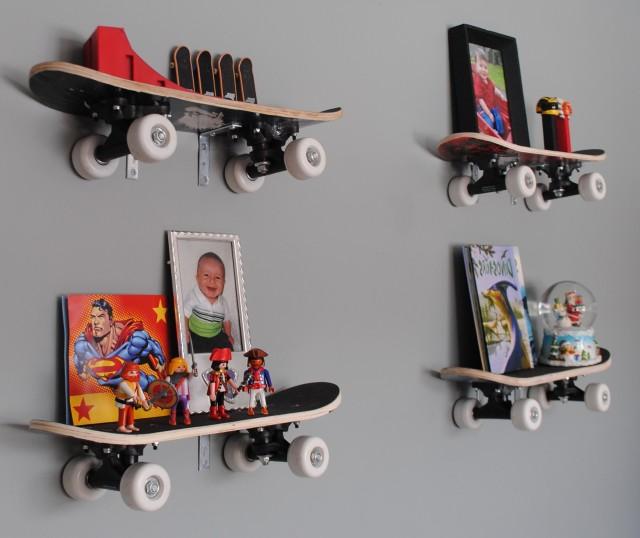 Wall Mounted Bookshelves For Kids